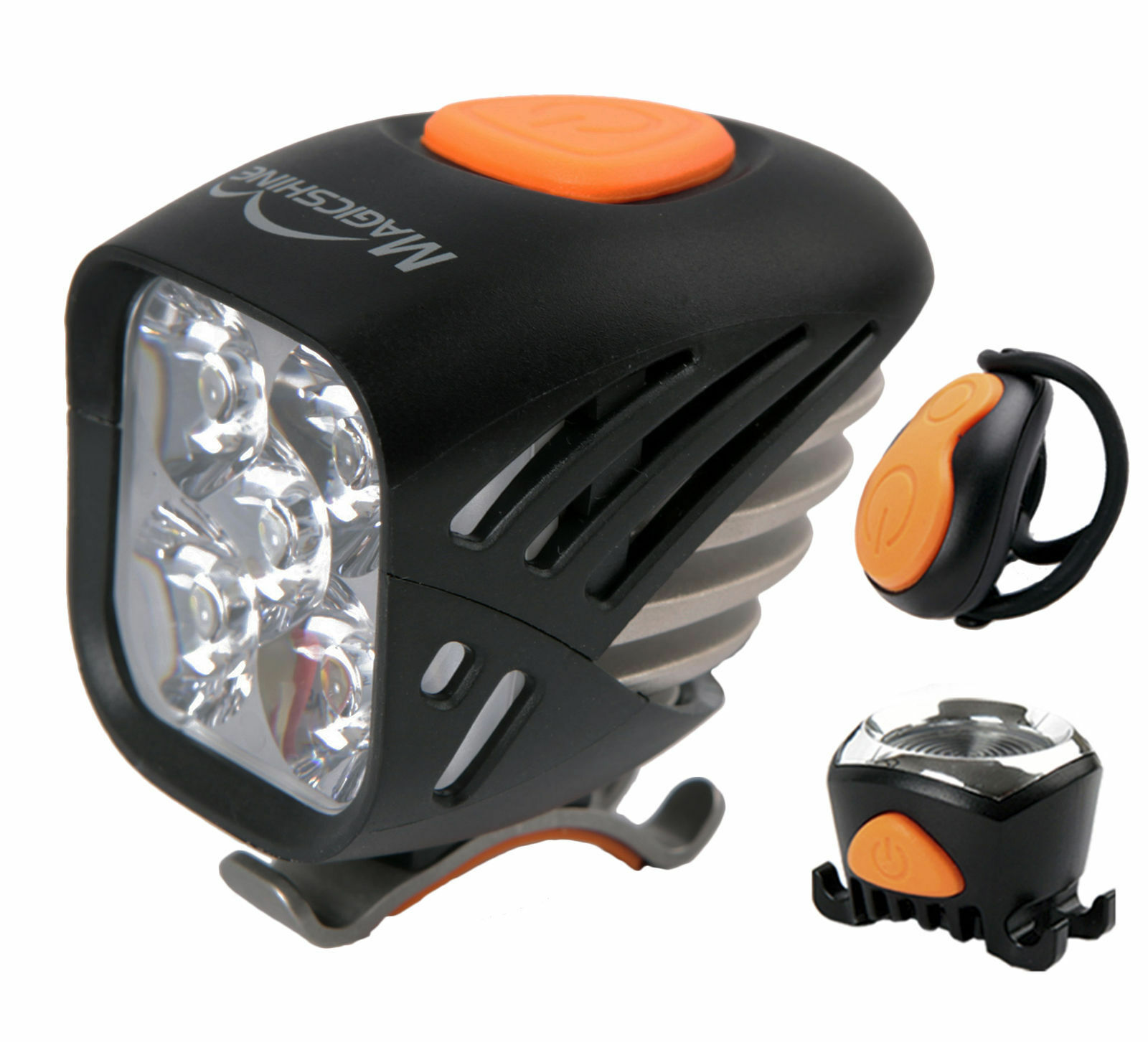 Magicshine MJ906 5000 Lumen MTB Front &Tail Bike Light Combo  Flood Beam