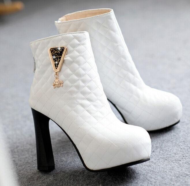 Stiefel winter komfortabel damenschuhe absatz 10.5 cm cm cm simil leder 8771 7784b6