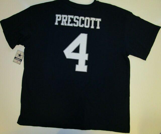 Dallas Cowboys Authentic DAK Prescott Jersey T-shirt Adult Men's XLT XL Tall