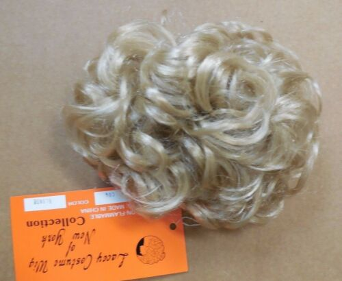 NWT Curly Bun Synthetic Various Colors Lacey Costume Wig of New York