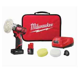 "Milwaukee 2438-22X M12 3"" Spot Polisher"