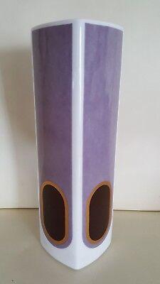 Heinrich V&B Porzellan große Vase 28cm POP Art 80er Design makellos psychodellic