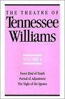 The Theatre of Tennessee Williams, Volume IV: Sweet Bird of Youth, Period of Adjustment, Night of the Iguana by Tennessee Williams (Paperback, 1993)