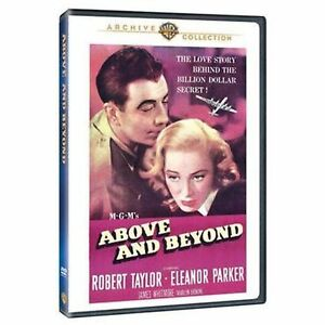 Above-and-beyond-UK-Region-2-Compatible-DVD-Robert-Taylor-Eleanor-Parker-NEW