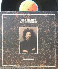 """BOB MARLEY & THE WAILERS ~ Jamming ~ 12"""" Single PS"""