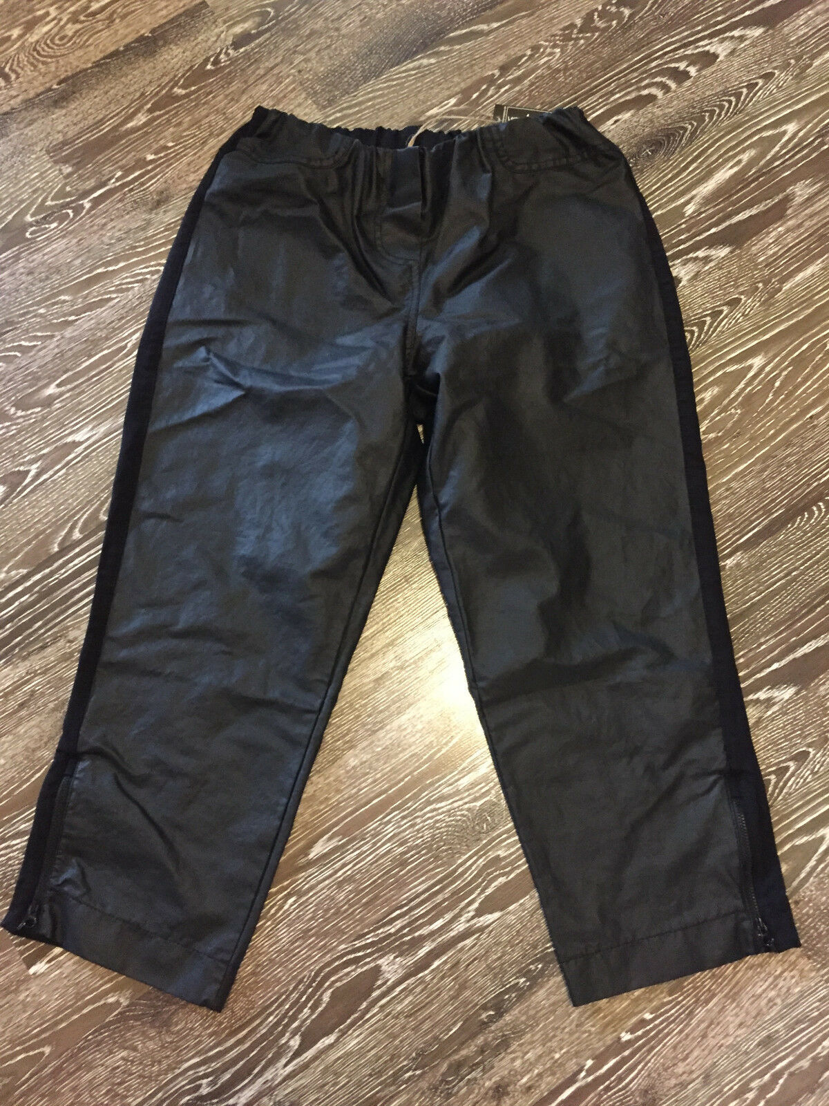 Barbara Speer Lagenlook  Stretch Hose Material Mix in black NEU Gr.4