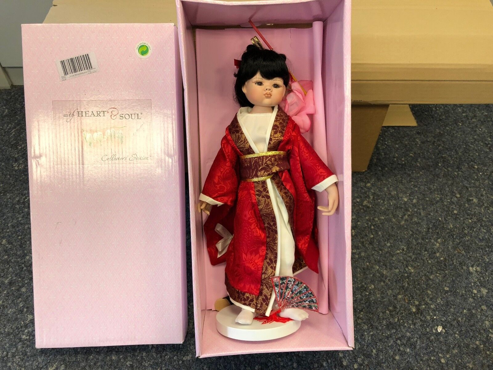 Linda M. Beitz bambola di porcellana 47 CM. OTTIMO stato