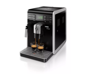 Philips Saeco Moltio HD8767/47 Black Silver Super Automatic Espresso Machine