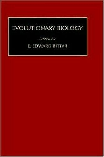 Evolutionary Biology von Bittar