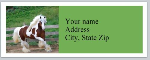 Personalized Address labels Horse Buy 3 get 1 free P 69