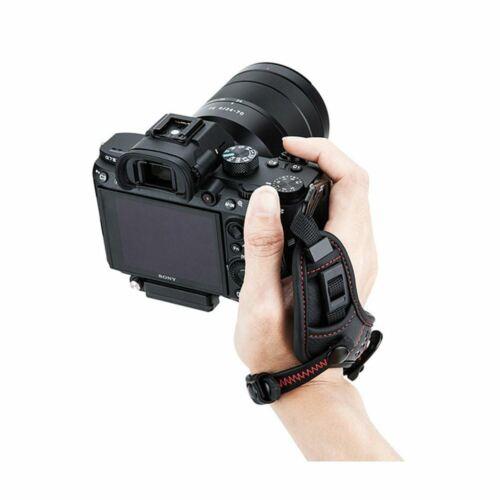Jjc HS-ML1M Rojo Correa de Mano Correa Para La Muñeca para Cámara Nikon Z7 Sony A7III Sin Espejo