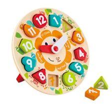 Puzzle aus Holz für Kinder Hape E1401 Steckpuzzle Baustelle Holzspielzeug
