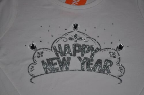 Gymboree girl size 6 NWT happy new year tee shirt top girls 100/% cotton