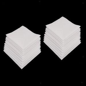 20-pacchetti-Fazzoletti-da-uomo-100-cotone-Classic-Hankies