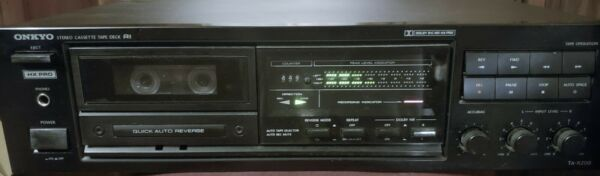 Onkyo R1 Hx Pro Stereo Cassette Tape Deck Tape Player Ta-r200 Minor Issues