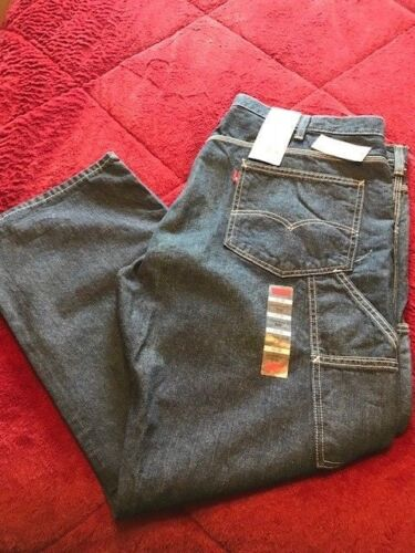 Levi's Dark Waist Wash Straight Inseam Jeans Carpenter Loose 30 Fit 569 42 dwxfSY