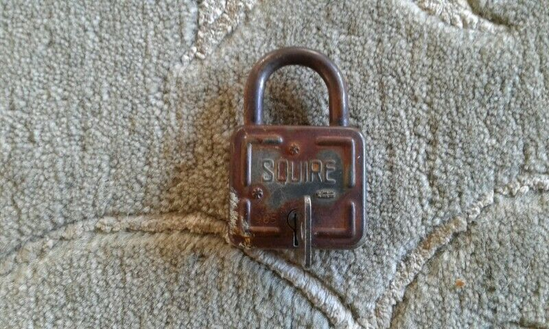 Squire English padlock for sale