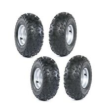 4X Go-kart ATV Tire with Rim Wheel Assembly 145/70-6 Rim Go kart Mini Bike