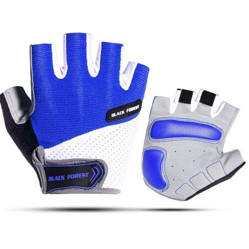 Cycling Mountain Bike Gloves Half Finger Gym Road Racing Riding Shock-Absorbing