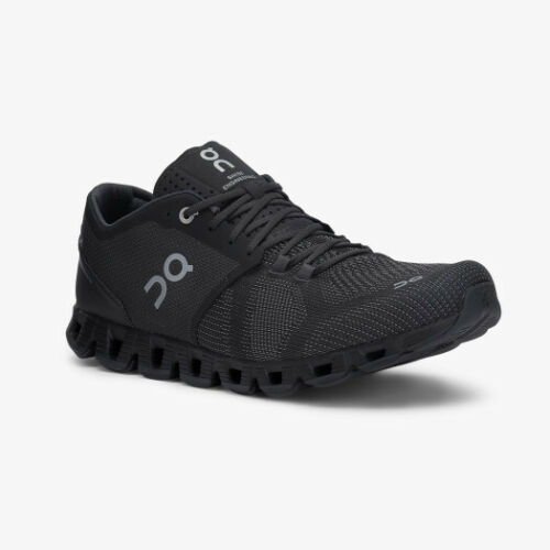 Gr schwarz 43 Laufschuh für Männer NEU ON CLOUD X Black-Asphalt