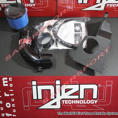 Injen SP3075BLK SP Series Short Ram Intake; w// HeatShield Black