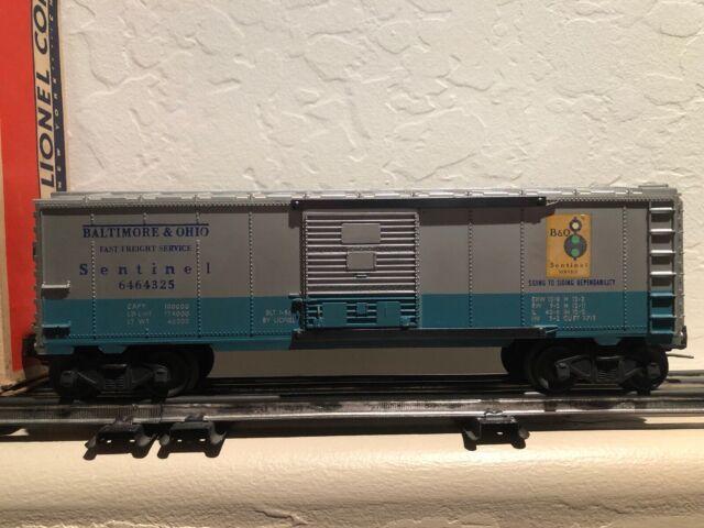 B /& O BALTIMORE /& OHIO SENTINEL RAILROAD BOXCAR NEW IN BOX 0-GAUGE LIMITED ED