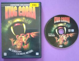 DVD-Film-Ita-Horror-KING-COBRA-kasey-fallo-pat-morita-ex-nolo-no-vhs-lp-cd-DV1