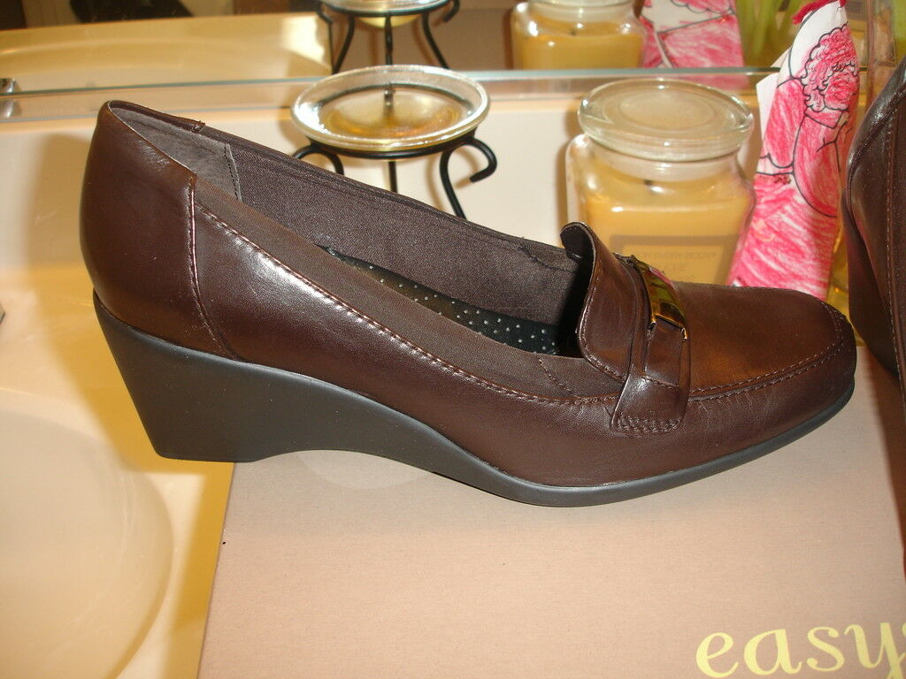 Easy Spirit Marrón Oscuro es7verena Comfort Zapato 85  85 Zapato 10 c10c4a