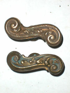 Beau Image Is Loading Antique French Style Brass Door Handles