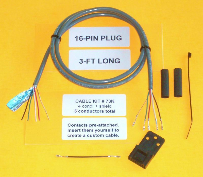 Cable Kit 73K Motorola 16 pin Maxtrac GM300 Repeater. Available Now for 6.99