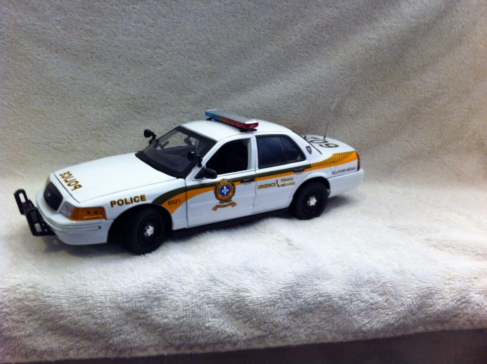 tiendas minoristas 1 1 1 18 Escala Modelo Diecast surete du Quebec de Policía con luces y sirena de trabajo  Con precio barato para obtener la mejor marca.