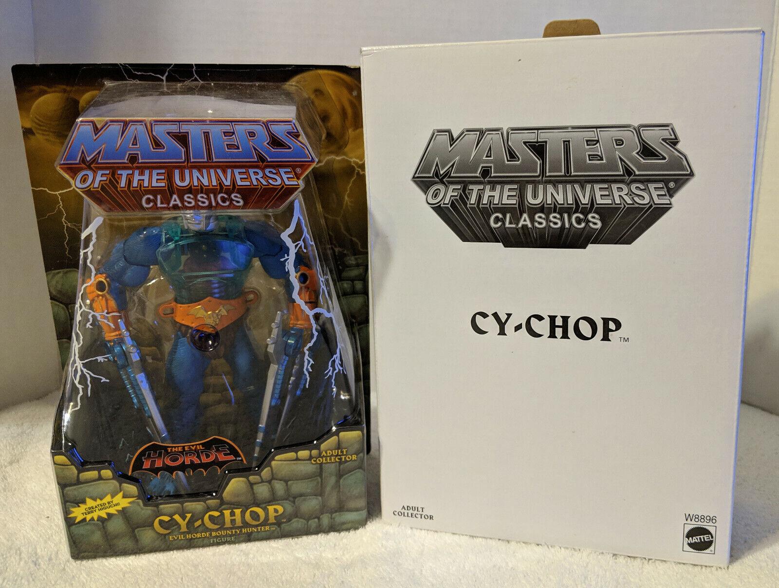 MOTUC Masters of the Universe Classics Cy-Chop MOC MOC MOC w mailer