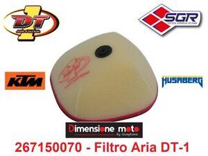 50070-Filtro-Aria-034-DT-1-034-tipo-Originale-per-KTM-EXC-300-2T-dal-2008-al-2011