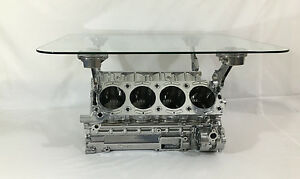 Image Is Loading Cosworth Race V8 Engine Block Coffee Table