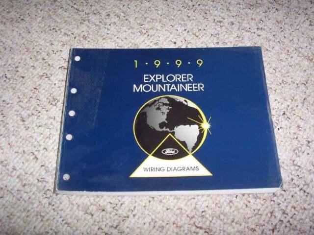1999 Mercury Mountaineer Electrical Wiring Diagram Manual 4 0l 5 0l V6 V8