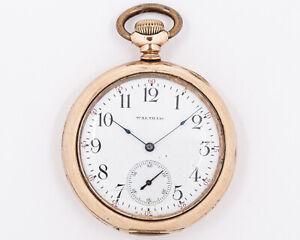 Antique-1901-Waltham-12s-7j-Grade-210-Model-1894-Pocket-Watch-out-of-Estate