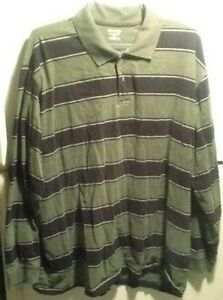 118e7439c Details about St Johns Bay Men's Green Heritage Sueded Jersey Long Sleeve  Shirt 3XLT RN 93677
