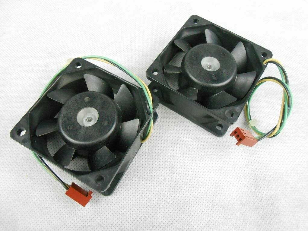 (2) Intel A46002-003 60mm CPU Cooling Fan 3-pin Sanyo Denki