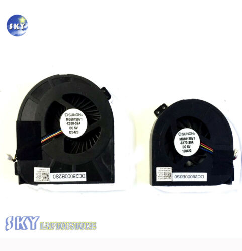 Dell Precision M4700 CPU Cooling Fan 01G40N GPU Cooling Fan 0CMH49 Cooler Pair