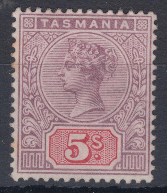 TASMANIA QV 5s mm SG 223 per entrambe le scansioni; CAT £ 90