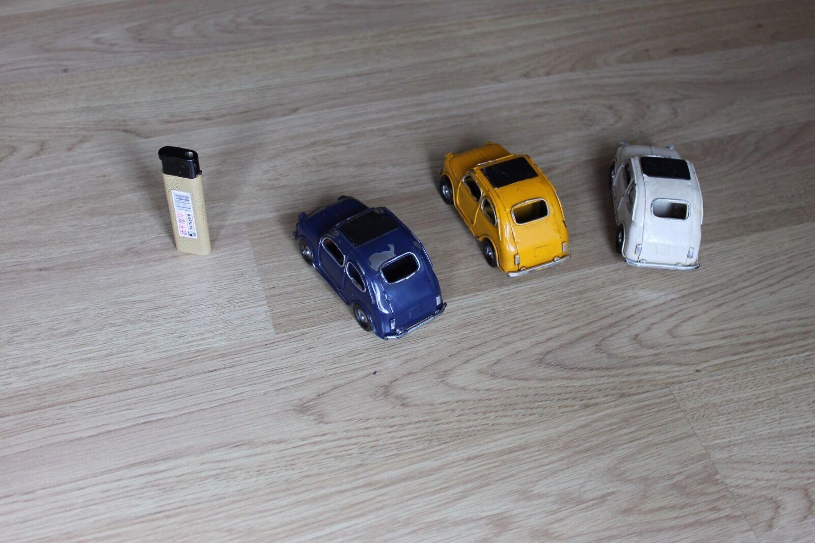 Lot Lot Lot of 3 fiat 500 models 8e94f8