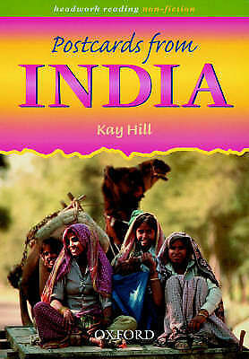 (Good)-Headwork Reading: Non-fiction: Postcards from India (Paperback)-Culshaw,