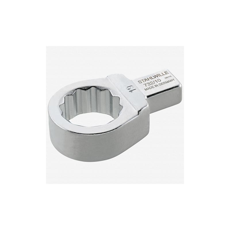 Stahlwille 58221012 732 10 Ring insert tool 12 mm, 9x12 mm