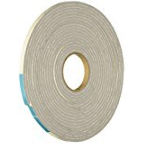 MD 02238 1//4-Inch X 1//8-Inch X 17-Feet High Density Foam Tape with Adhesive Clos