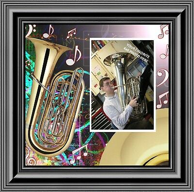 Modern Music Makers Sign Musician Band Tuba Clarinet Banjo Drums Wall Decor Art