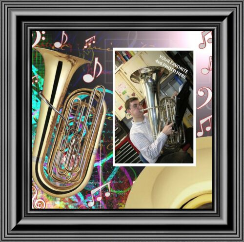 Tuba 10X10 3516B Marching Band Gifts Picture Frame