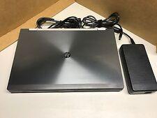 HP 8770w i7 TURBO 3.6GHz 16GB RAM 250GB SSD CAD Gaming Laptop NVIDIA 4GB k4000m