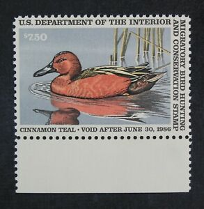 CKStamps-US-Federal-Duck-Stamps-Collection-Scott-RW52-7-50-Mint-NH-OG