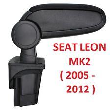 BRAND NEW SEAT LEON MK2 II 1P (2005-2012) CENTRE CONSOLE ARMREST BLACK CHEAPEST!