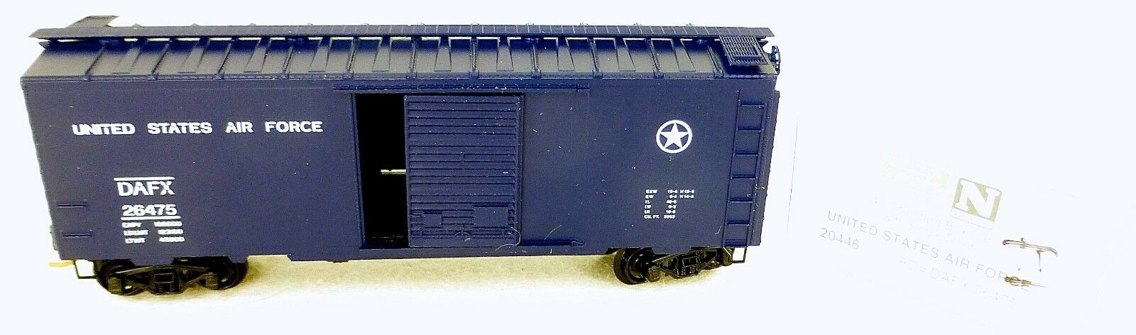 40´ st Boxcar United States Air Force 26475 Micro Trains Line 20446-2 1 160 D Å
